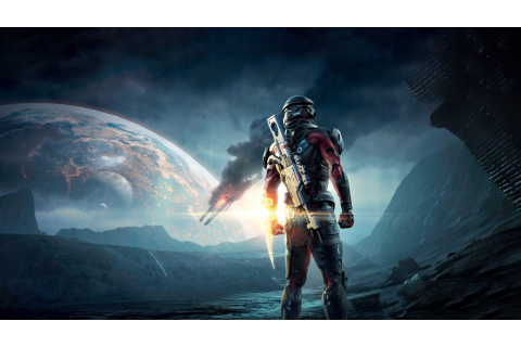 Wallpaper Mass Effect: Andromeda, mass effect, shooter ...