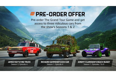 The Grand Tour Game Is Now Available for Pre-Order ...