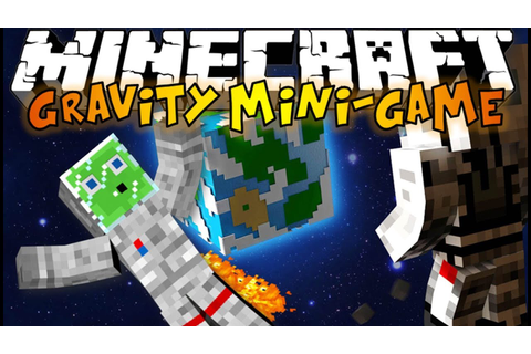 Minecraft: GRAVITY Mini-Game - The First Slime in Space ...