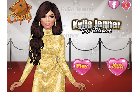 Kylie Jenner Top Model - Girl Games
