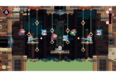 Flinthook Is A Tough But Fair Game About A Space Pirate
