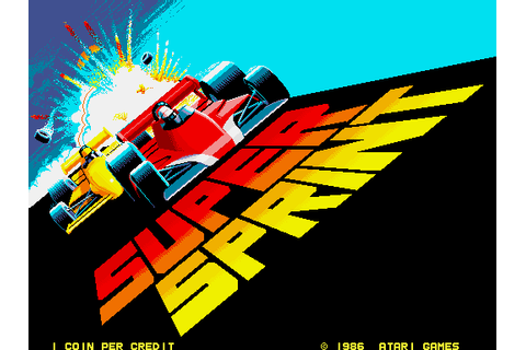 Super Sprint - Videogame by Atari Games