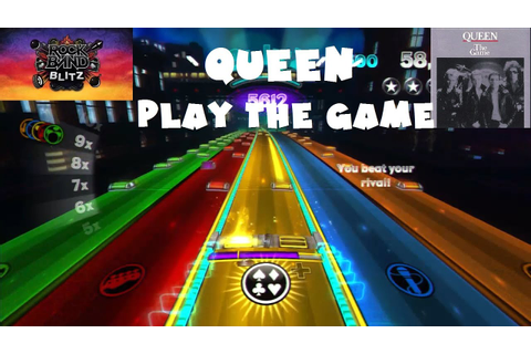 Queen - Play the Game - Rock Band Blitz Playthrough (5 ...