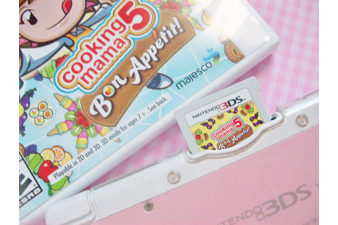 MooeyAndFriends: Game Review ♥ Cooking Mama 5 Bon Appetit