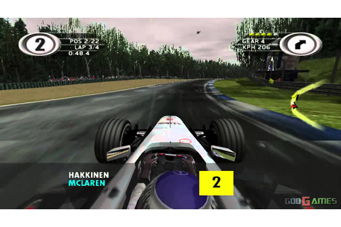 F1 2001 - Gameplay Xbox HD 720P (Xbox to Xbox 360) - YouTube