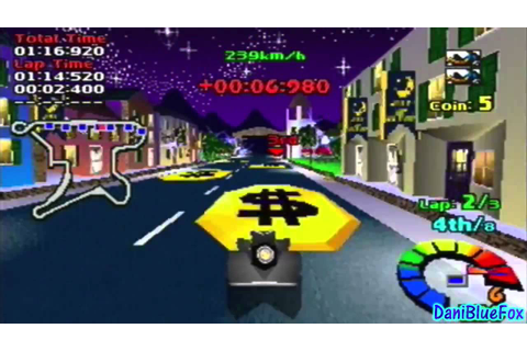 Motor Toon Grand Prix 2 - Gameplay Sample [PSX] - YouTube