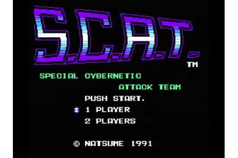 S.C.A.T. - Special Cybernetic Attack Team (NES) Music ...