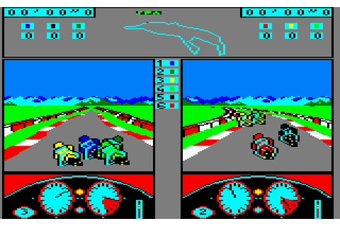 500cc Grand Prix (1986) by Microïds Amstrad CPC game