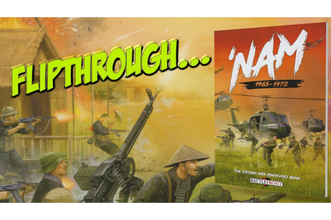 'Nam | Battlefront | Flipthrough - YouTube