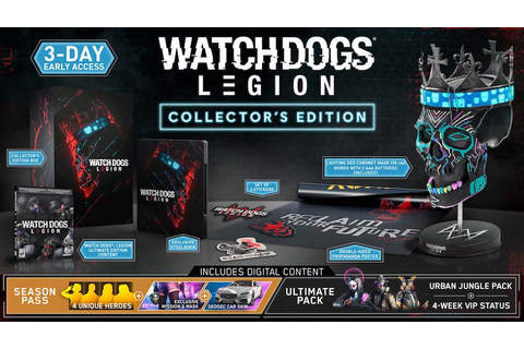 Complete Watch Dogs: Legion Guide to Special Editions and ...