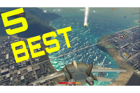 Top 5 Best Air Combat Games For Android - YouTube
