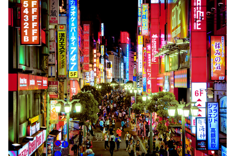 Shinjuku at night (Tokyo, Japan) | Check my Most ...