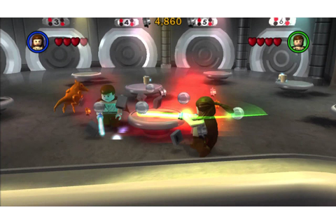 Lego Star Wars The Complete Saga Walkthrough Part 1 Ps3 ...