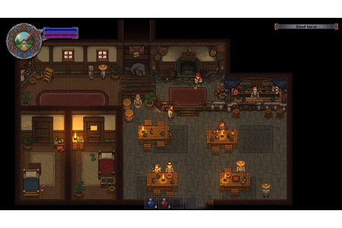 Graveyard Keeper is a Farming Simulator... with Tombstones