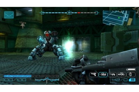 Coded Arms Contagion - PSP - Review