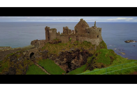 DUNLUCE CASTLE | CASTLE GREYJOY | GAME OF THRONES - YouTube