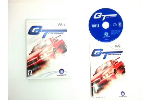 GT Pro Series game for Wii (Complete) | The Game Guy
