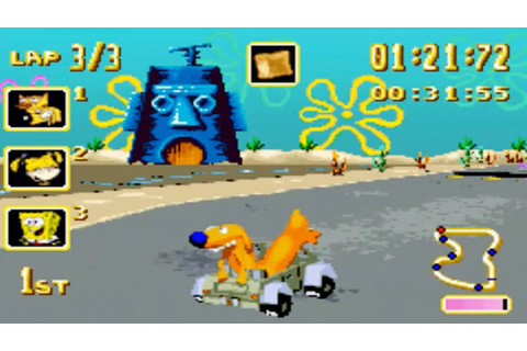 Nicktoons Racing (Gameboy Advance Gameplay) - YouTube