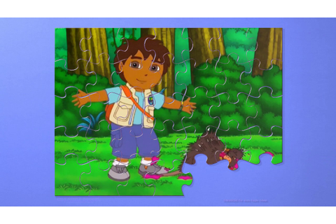 GO, DIEGO, GO! New Animated Game 3X Puzzle Diego and Dora ...