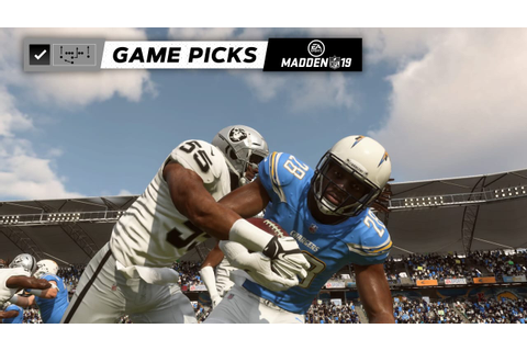 Expert Game Picks: Raiders at Chargers
