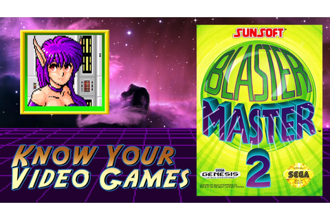 Blaster Master 2 for Genesis - Review - YouTube