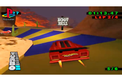 Hot Wheels: Turbo Racing (PS1 Gameplay) - YouTube