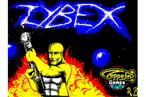 Download Zybex (Atari 8-bit) - My Abandonware