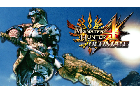 Monster Hunter 4 Ultimate - Part 1 (LET'S DO IT!) - YouTube