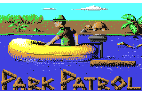 Park Patrol (1984) by Activision C64 game