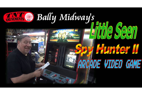 #1138 Bally Midway SPY HUNTER 2 Arcade Video Game - LOW ...