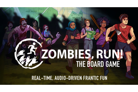 Zombies, Run! The Board Game by Six to Start and Naomi ...