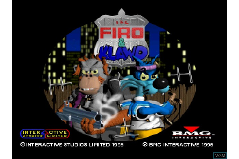 Firo & Klawd for Sony Playstation - The Video Games Museum