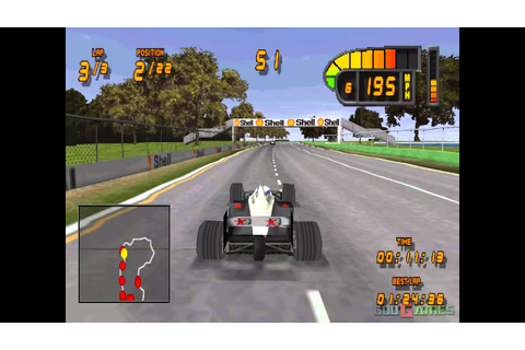 Formula 1 98 - Gameplay PSX / PS1 / PS One / HD 720P ...