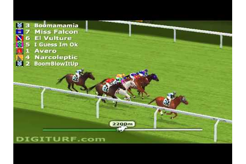 Best Virtual Horse Racing Game - YouTube