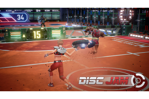 Review: 'Disc Jam' puts a new spin on tennis video games ...