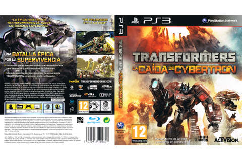 BLES01153 - Transformers: Fall of Cybertron