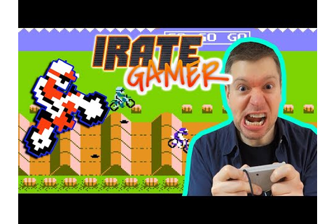 ExciteBike NES Video Game Review S5E12 | The Irate Gamer ...