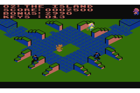 Lode Runner's Rescue (1985) by Synapse Software Atari 400 ...