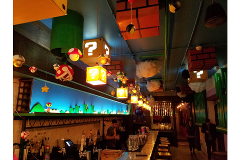 Super Mario Themed Pop-up Bar: Your Sobriety Is in Another ...