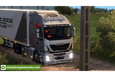 ETS 2 - Iveco Hi-Way YGZ Accessory V1.0 Full Version (1.27 ...