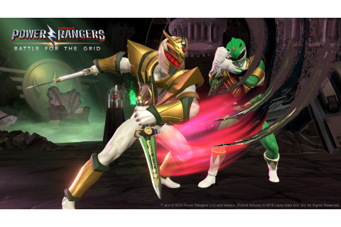 It's Morphin Time as Power Rangers: Battle for the Grid ...