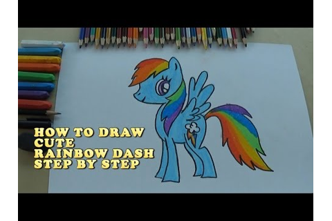 [Full Download] How To Draw Rainbow Dash Step By Step Video