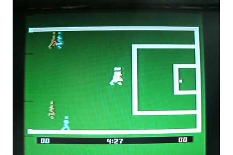 ATARI 2600 FOOTBALL REALSPORTS SOCCER.wmv - YouTube