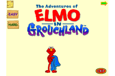 The Adventures of Elmo in Grouchland (Windows) - The ...