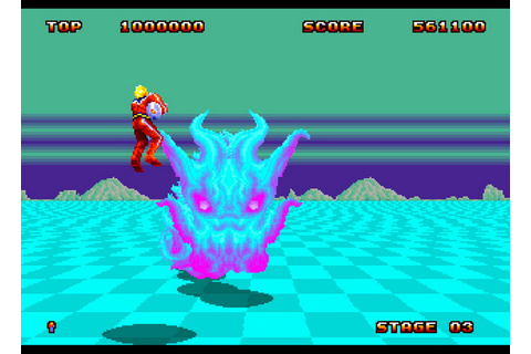Space Harrier II (World) ROM