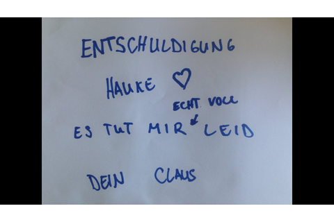 Crack Claus - Entschuldigung Hauke - YouTube