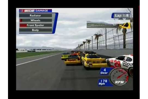 NASCAR Heat 2002 Blowovers #2 - YouTube