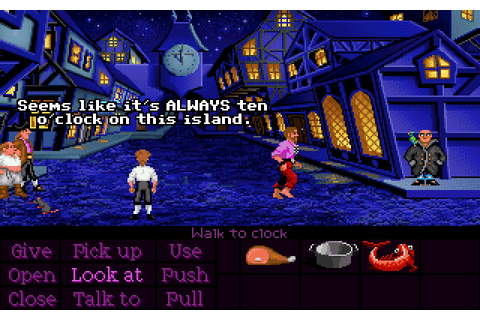 The Secret of Monkey Island (CD DOS VGA) Game
