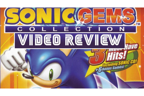 Sonic Gems Collection Retro Review - YouTube