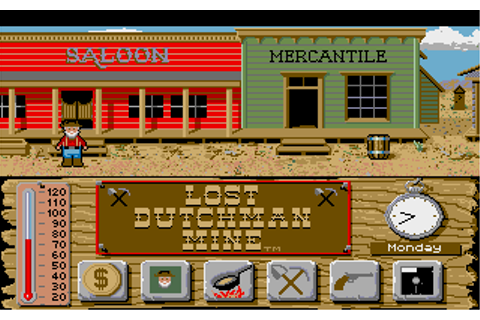 Lost Dutchman Mine | Old DOS Games | Download for Free or ...
